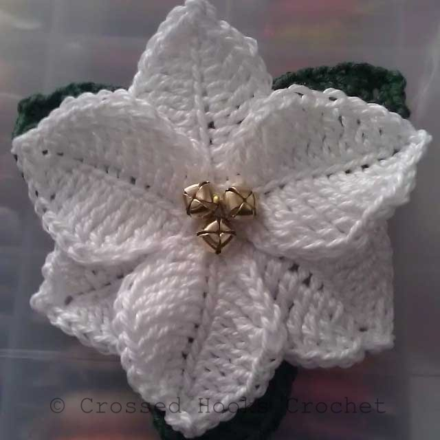 Free Crochet Patterns For Christmas Flowers : Accessories Archives - Crossed Hooks Crochet